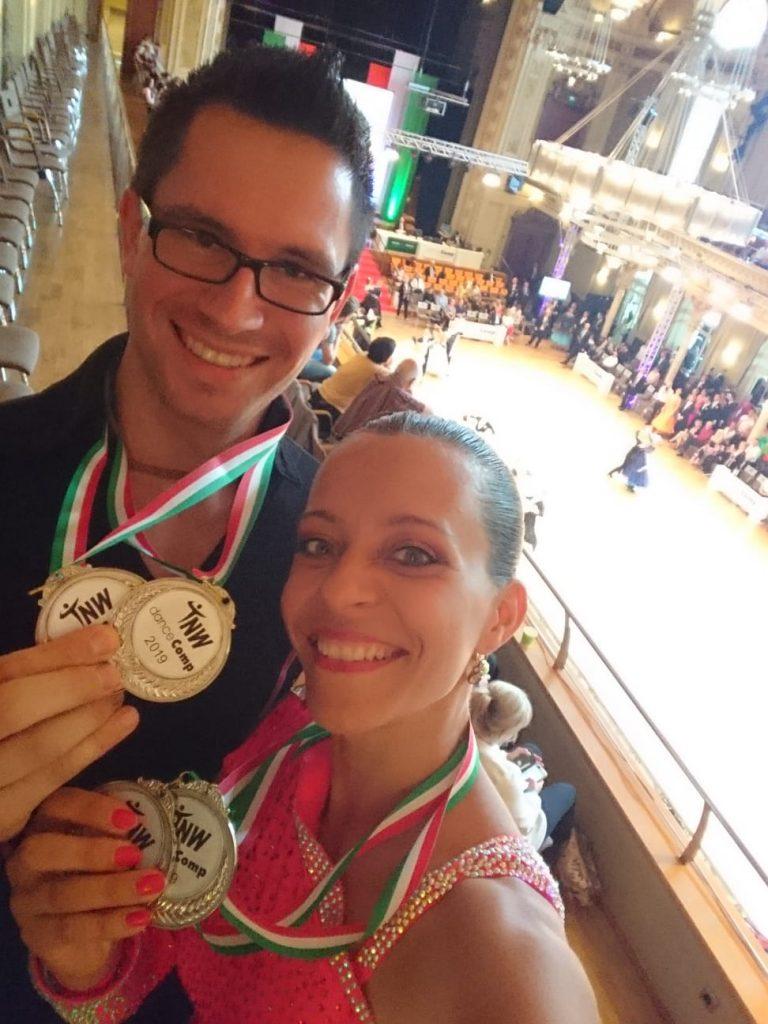 Zweiter Platz auf der DanceComp 2019 und Aufstieg in die neue Leistungsklasse HGR2 B